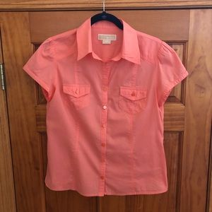 Michael Kors Short Sleeve Top Size M